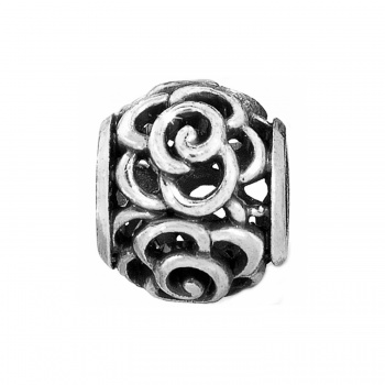 ABC Twinkle Rose Bead