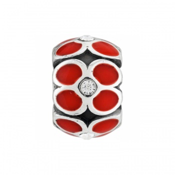 Ring Of Flowers Bead