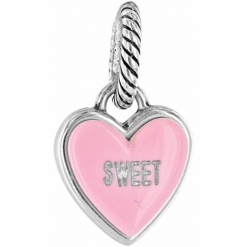 ABC Candy Heart Charm