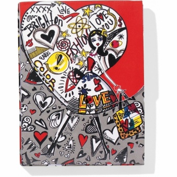 Fashionista Graffiti Pocket Notepad