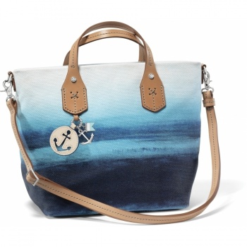 Indigo Blue Lake Soft Satchel