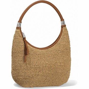 London Groove Shelby Straw Shoulderbag