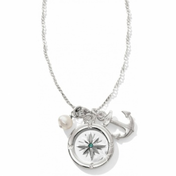 Indigo Beach Indigo Beach Petite Compass Trio Necklace