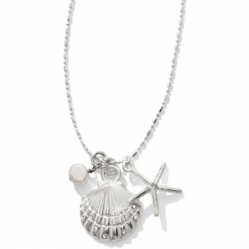 Indigo Beach Petite Shell Trio Necklace