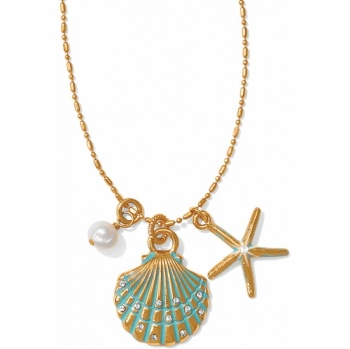 Aqua Shores Aqua Shores Petite Shell Necklace