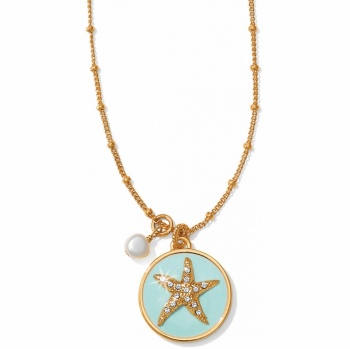 Aqua Shores Petite Starfish Necklace