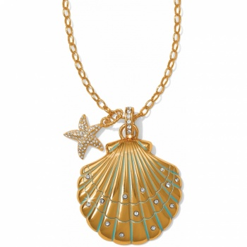 Aqua Shores Aqua Shores Convertible Shell Necklace
