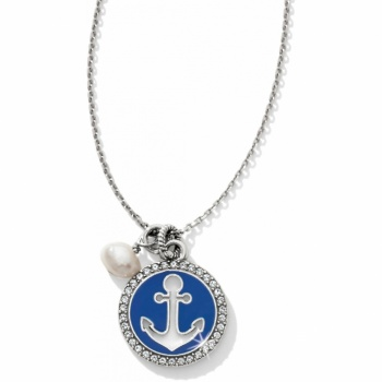 Indigo Beach Petite Anchor Necklace