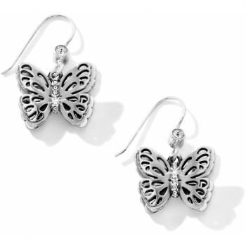 Secret Garden Secret Garden Butterfly French Wire Earrings