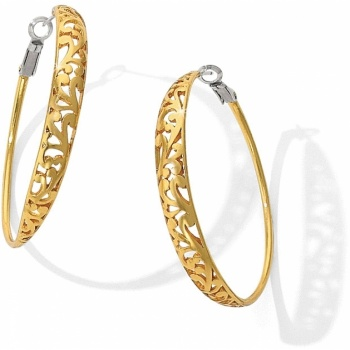 Elora Elora Hoop Leverback Earrings