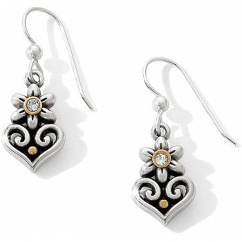 Alcazar Alcazar Flor French Wire Earrings