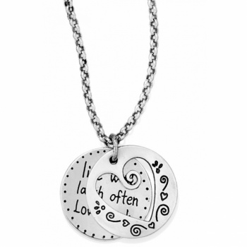 Quote Me Heart Necklace