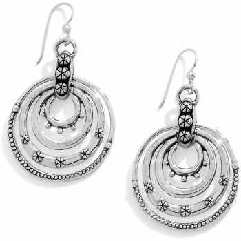 Destiny Rings French Wire Earrings