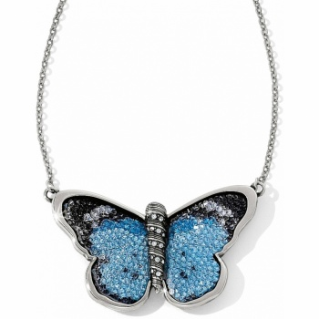 Crystal Rocks Papillon Necklace