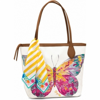 Flynn Embroidered Tote