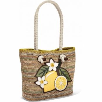Bella Limone Limone Knotted Soft Tote