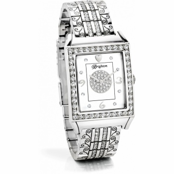 Diamond Bar Link Watch