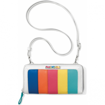 Suncatcher Color Block Zip Wallet