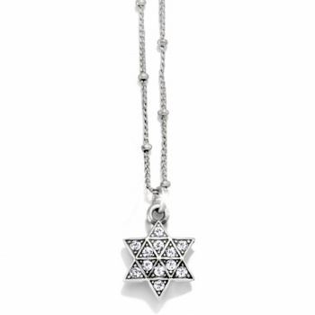 Diamond Diamond Star Of David Necklace