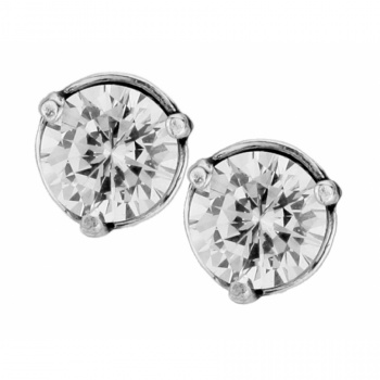 Brilliance Brilliance 7MM Post Earrings