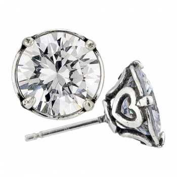 Brilliance 9MM Post Earrings