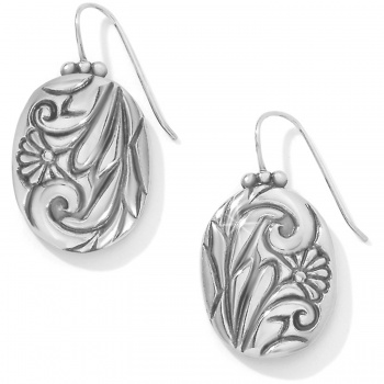 Prairie Rose French Wire Earrings