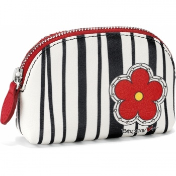 Poppin Poppies Mini Coin Purse