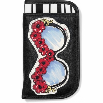 Fashionista Looksie Double Eyeglass Case