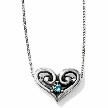Alcazar Alcazar Heart Crystal Necklace