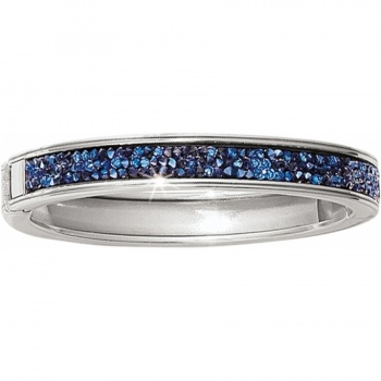 Crystal Rocks Crystal Rocks Slim Hinged Bangle