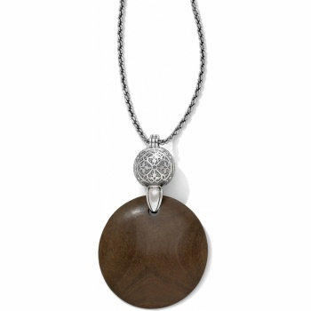 Roma Wood Necklace