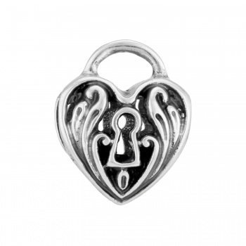 ABC Heartlock Bead