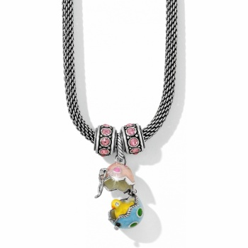 Peep A Boo Charm Necklace