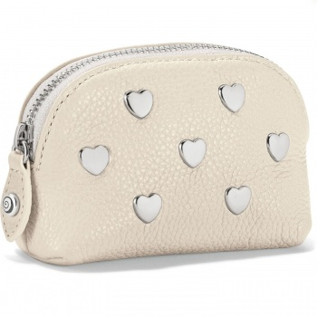Pretty Tough Heart Stud Mini Coin Purse