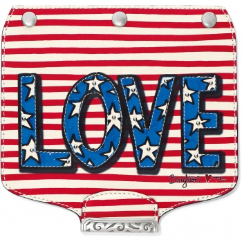 Brighton Your Bag Show Your Happy Stripes Snappy Flap
