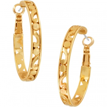 Contempo Contempo Medium Hoop Earrings