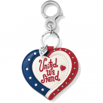 Show Your Stripes Patriotic Handbag Fob
