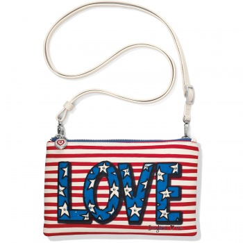 Show Your Stripes Love Stripe Pouch