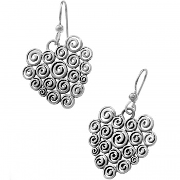 Vertigo Heart French Wire Earrings