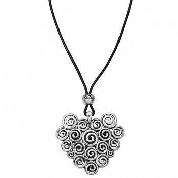 Vertigo Heart Long Necklace