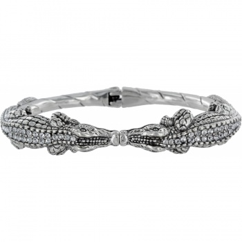 Later Gator Gator Kiss Hinged Bangle