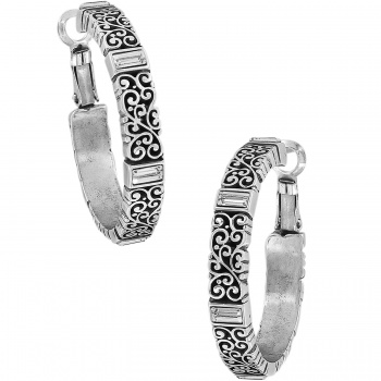 Baroness Baroness Leverback Hoop Earrings