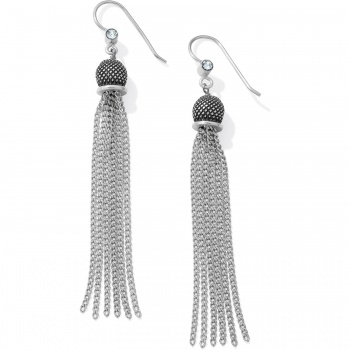 Salma Tassel French Wire Earrings