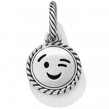Text Me Text Me Wink Charm