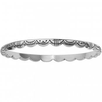 Casablanca Casablanca Scalloped Bangle