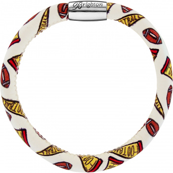 Woodstock Fashion Print Single Bracelet