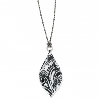 Casablanca Tile Teardrop Necklace