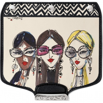 Brighton Your Bag Uptown Girls Snappy Flap
