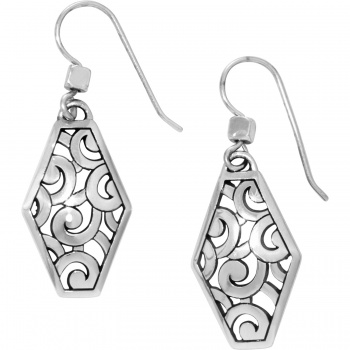 Deco Deco Diamond French Wire Earrings