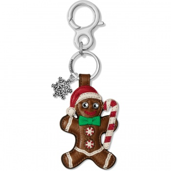 Gingerbread Man Handbag Fob